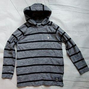 Boys Hooded Shirt